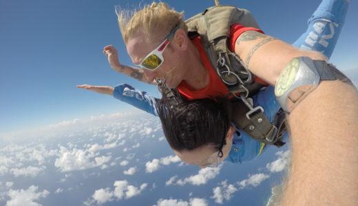 グアムでスカイダイビングをしてきました!